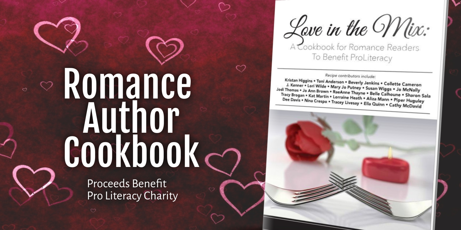Love in the Mix - a romance author charity cookbook