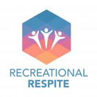 Recreational Respite logo. Colourful octagon with three figures in the middle.