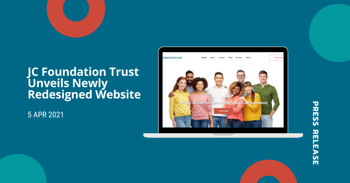 JC Foundation Trust Unveils Newly Redesigned Website