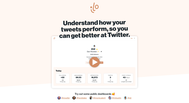 Better Twitter Analytics