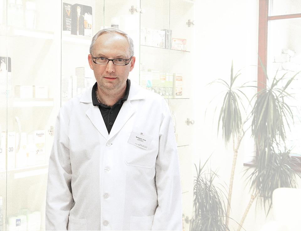 Masason Tibor gyógyszerész