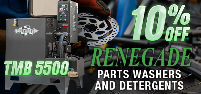 Manual Parts Washer Supplies Bundle