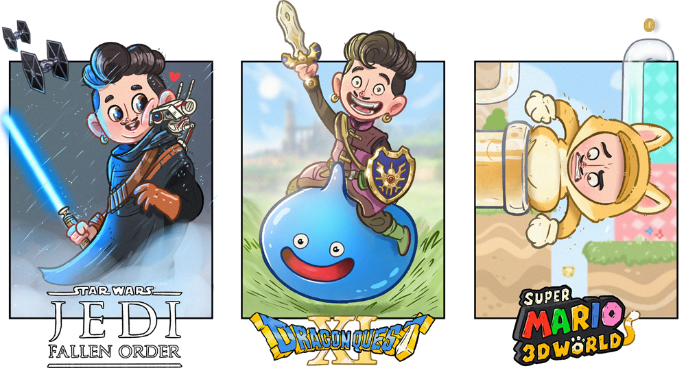 Games illustratie