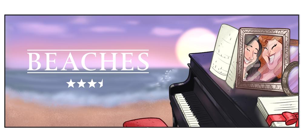 Beaches illustratie
