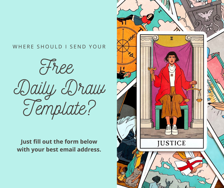 Free Tarot Journal Daily Draw Tarot Card Pull Journal Page