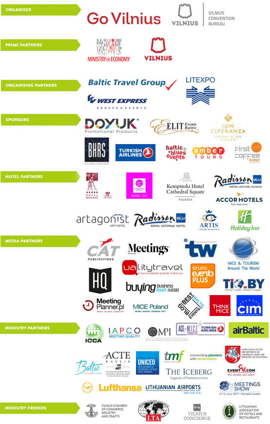 CONVENE Sponsors and Partners
