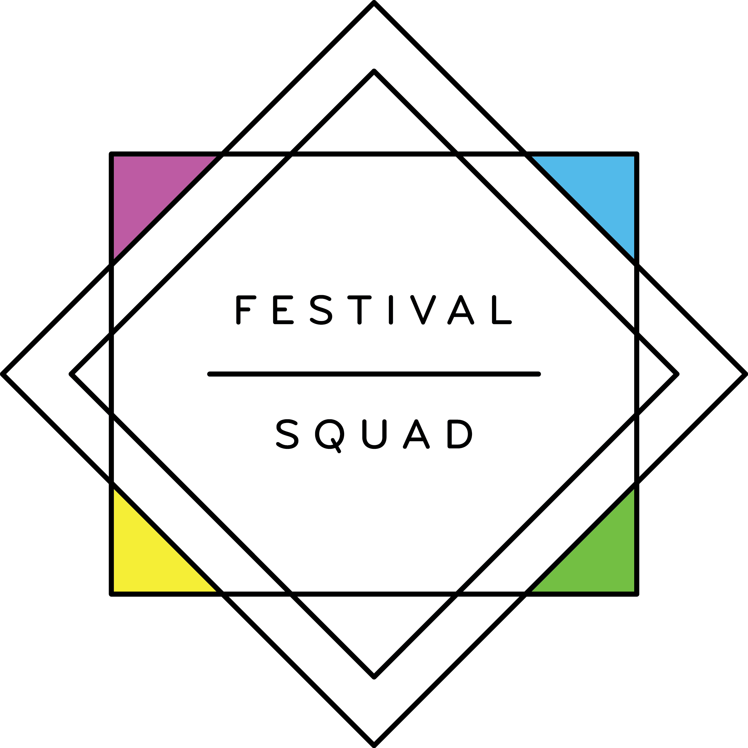 Official Festival Squad Logo
