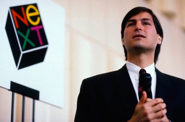 Steve Jobs and Next Logo