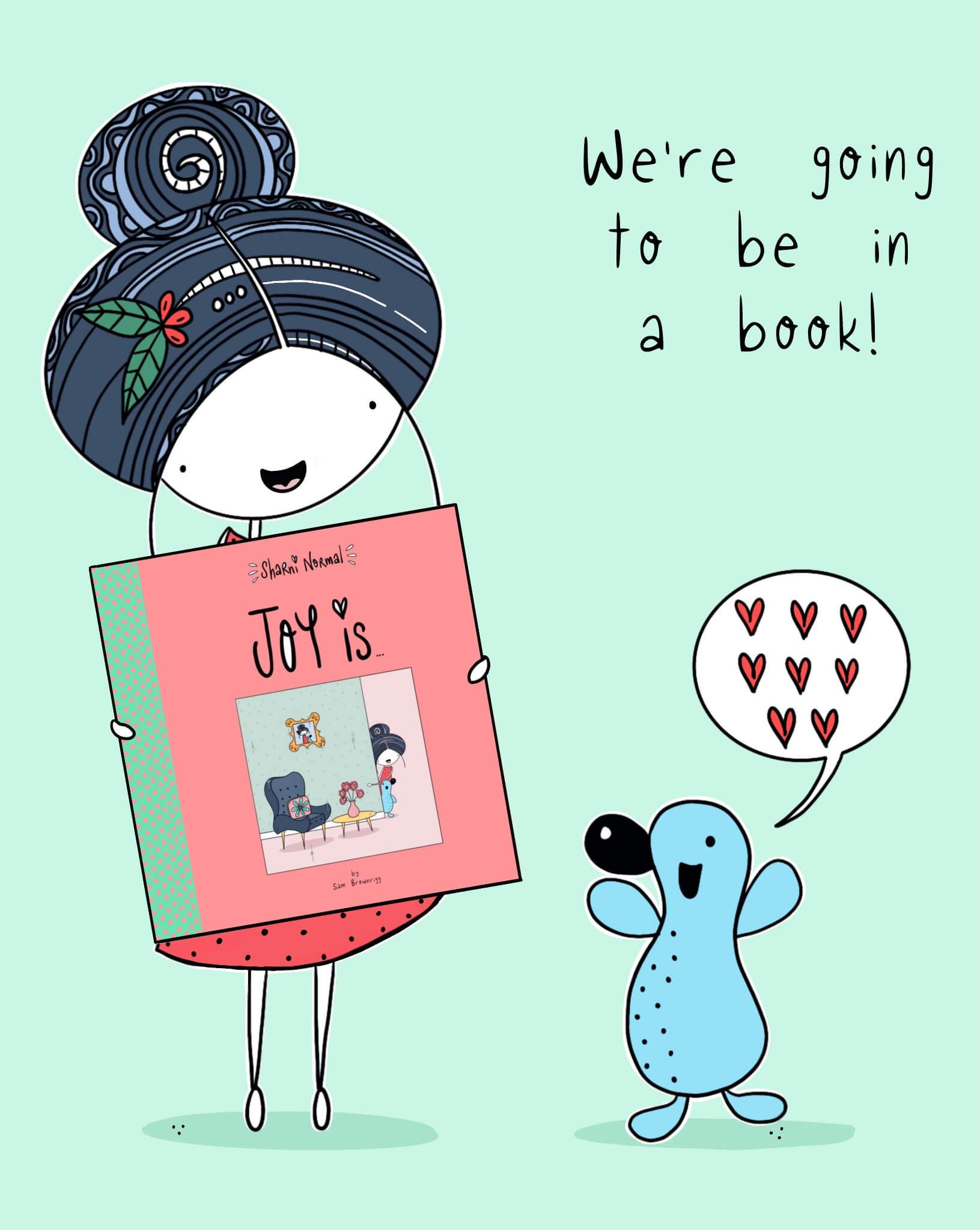 A little book to spread joy!