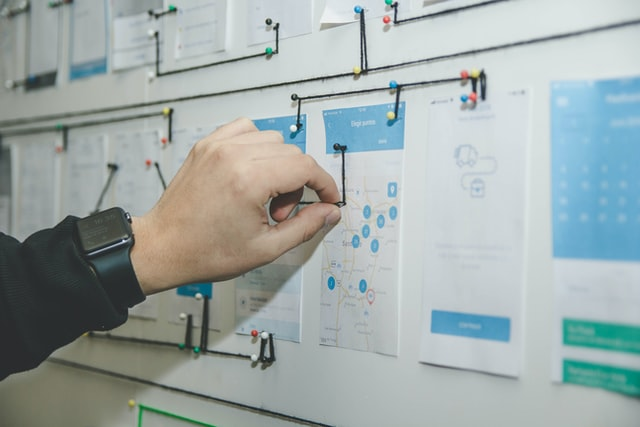 HR manager mapping mapping job requirements and tasks