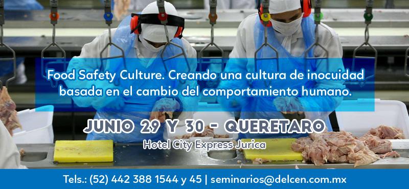 Taller de HACCP avanzado: Validación de las medidas de control categorizadas como PCCs, PCs, PPROPs y Controles Preventivos para HARPC. Mayo 18 y 19 - Ciudad de México
