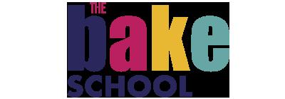 The bake school logo.