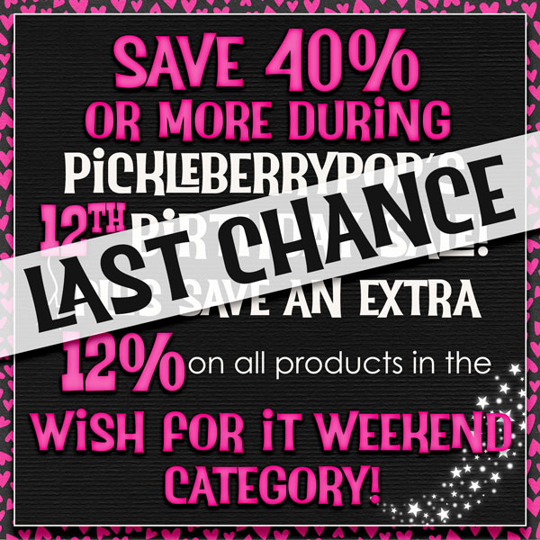 LAST CHANCE to Shop Our 40% Storewide Birthday Sale, FWP Offers & FREEBIE!