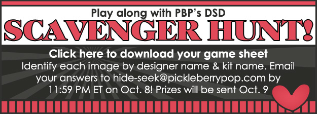 Celebrate DSD at PBP! NEW Designs, FWP Offers, Freebies, Games & More! – October 4, 2018