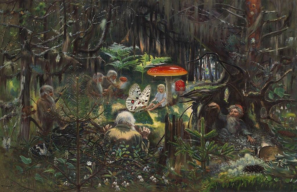 Fairy tale princess, Torsten Wasastjerna, National Gallery of Finland, PD - https://www.kansallisgalleria.fi/fi/object/812228, Public Domain, https://commons.wikimedia.org/w/index.php?curid=93232130
