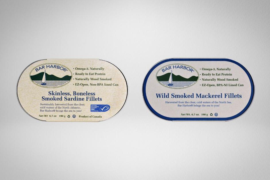 Bar Harbor Sardines and Mackerel