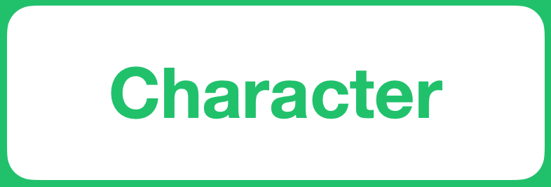 Positive Value - Character
