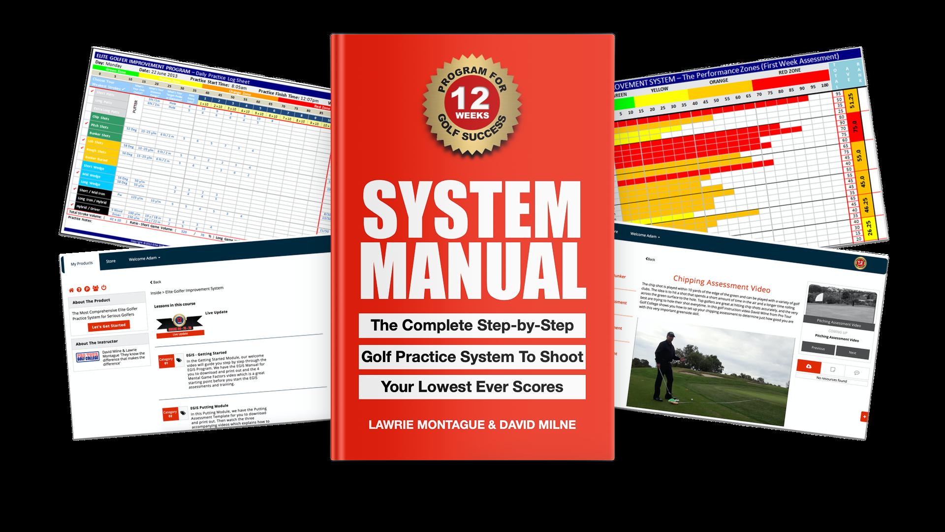 Elite Golfer Improvement System Manual