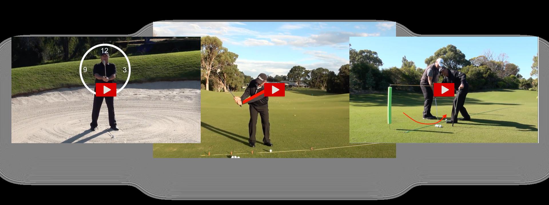 Elite Golfer Improvement System game improvement videos