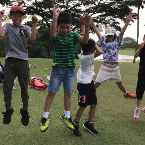 Learning golf the fun way