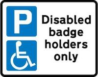 Too many blue badges