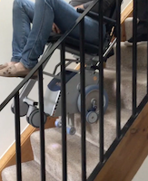 Overcoming the obstacle of stairs