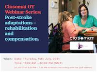 Post stroke adaptations –  OT webinar