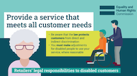 EHRC Guidance for retailers
