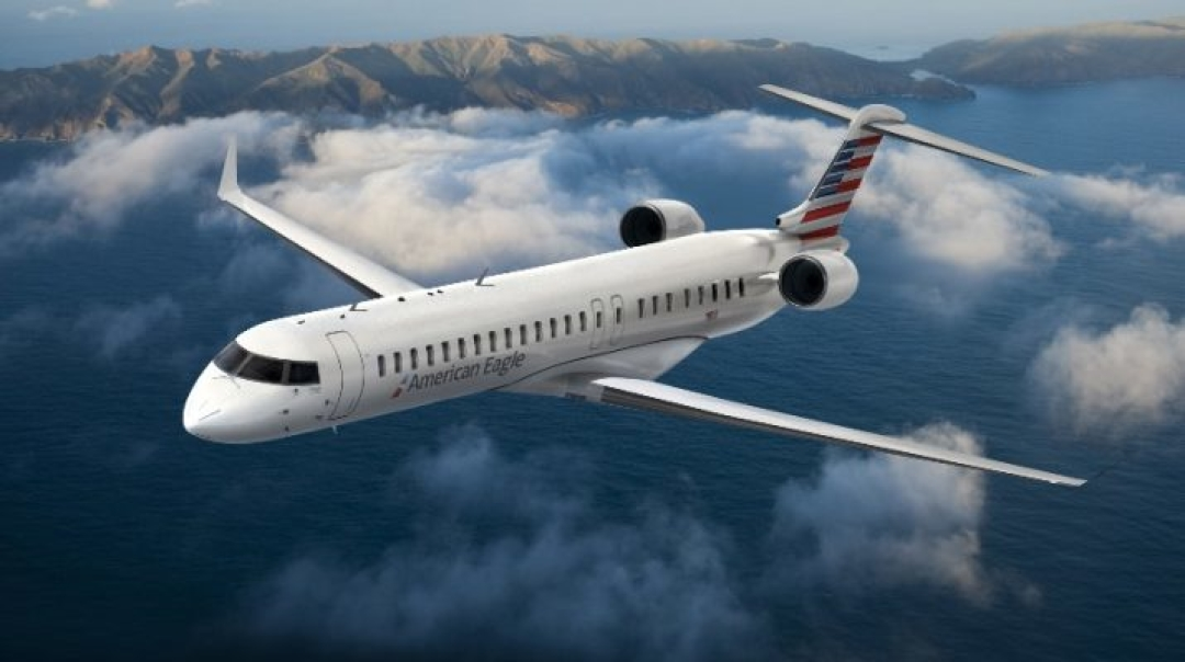 Bombardier Signs Contract with American Airlines for 15 CRJ900 Aircraft