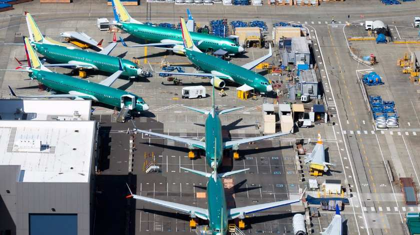 Boeing Records 150 Cancellations for 737 MAX Aircraft in March