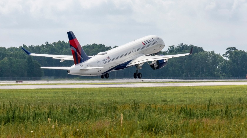 First Airbus A220 Produced in Mobile Takes off for Maiden Flight
