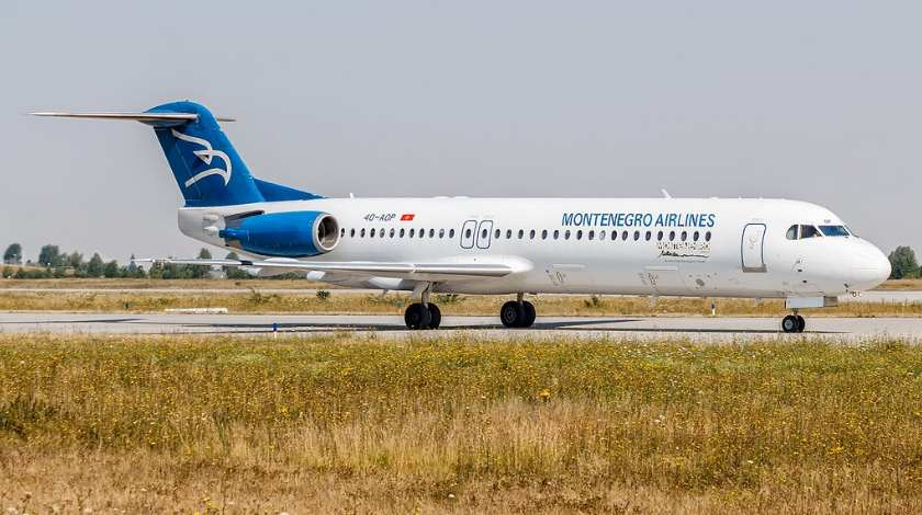 Captain of Montenegro Airlines Fokker 100 Becomes Incapacitated