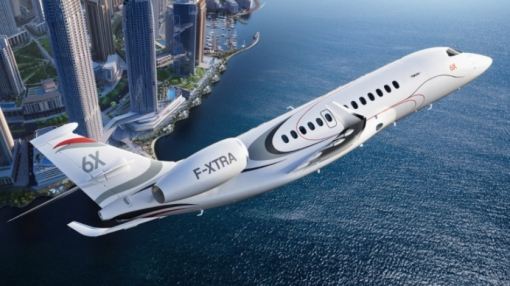 Dassault Launches New Falcon 6X Luxury Business Jet