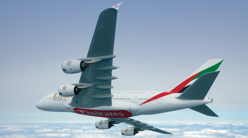 Iconic Emirates Airbus A380 Returns to the Sky after Grounding