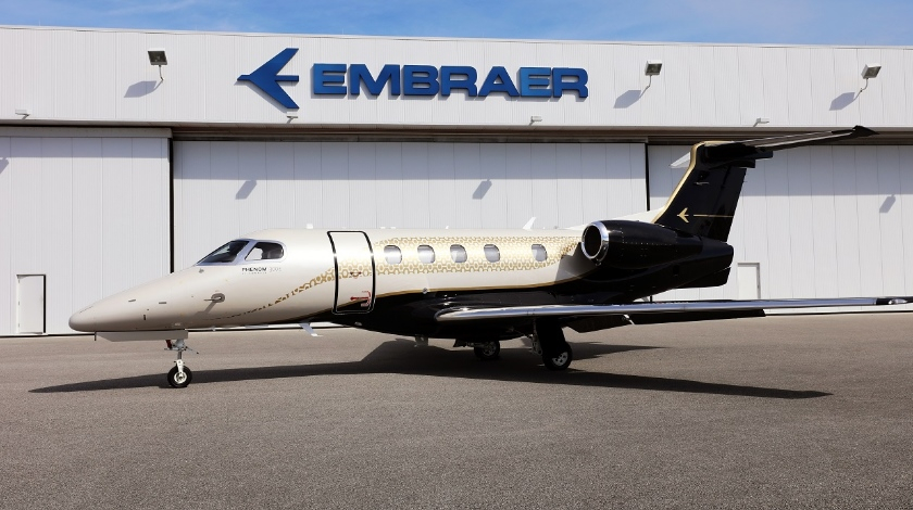 Embraer Phenom 300E Achieves Triple-Certification