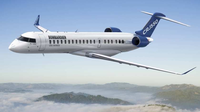 Bombardier to Sell Its CRJ Program for $550 Million