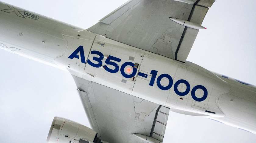 Airbus Increases A350-1000 Maximum Seating Capacity to 480