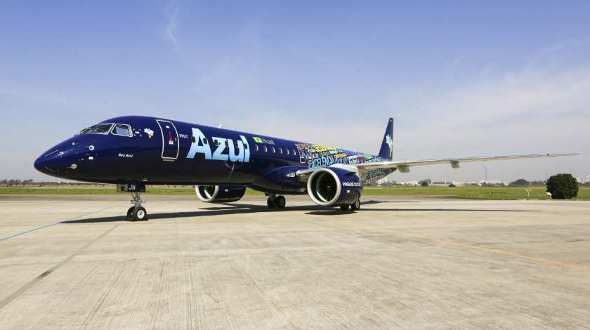 First Embraer E195-E2 Handed Over to Azul