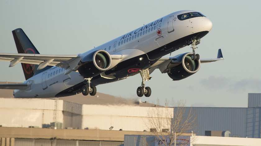 Air Canada Places Its First Airbus A220 Into Revenue Service