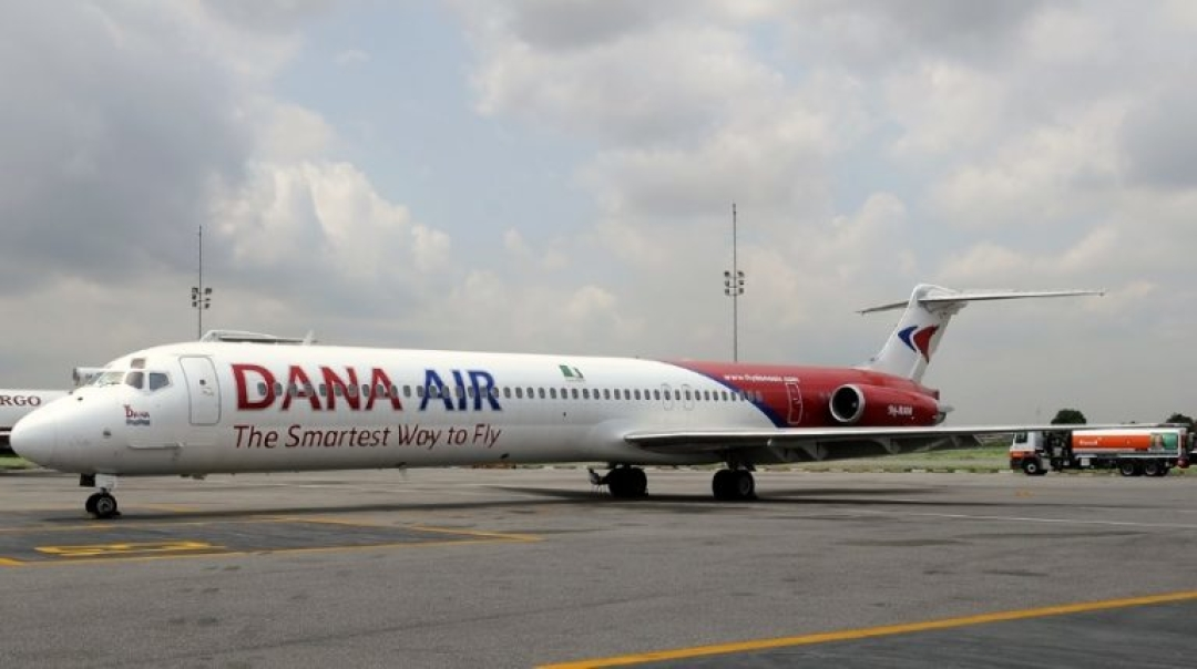 Dana MD83 Overruns the End of the Runway in Nigeria