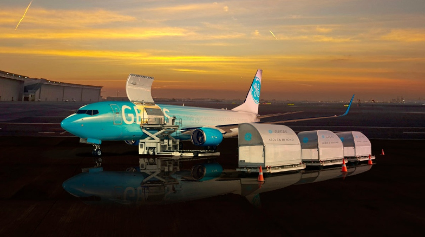 GECAS Expands Order for Boeing 737-800 Converted Freighter