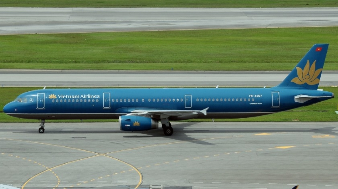 Vietnam Airlines Airbus A321 Strikes Its Tail on Landing