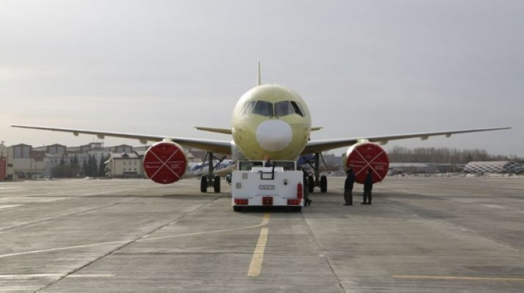 Irkut Corporation Completes the Construction of the Second MC-21-300