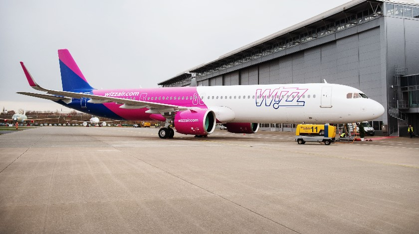 Pratt & Whitney GTF™ Engines to Power 166 Wizz Air Airbus A320neos
