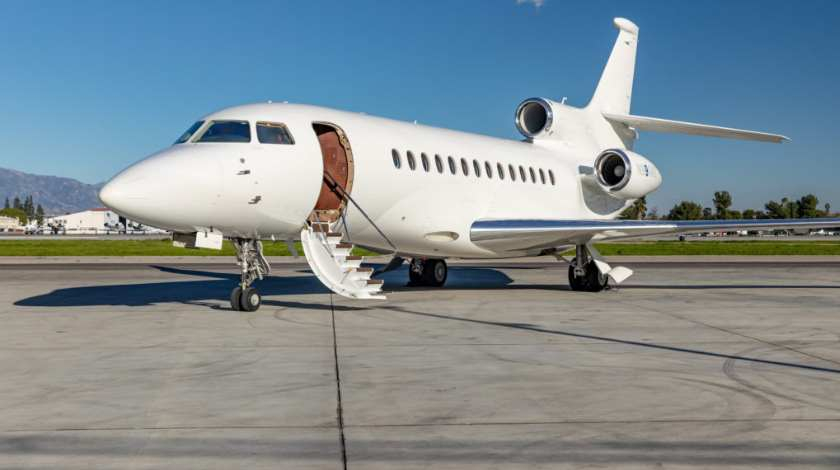 Planet Nine Private Air Places Fourth Falcon 7X into Service
