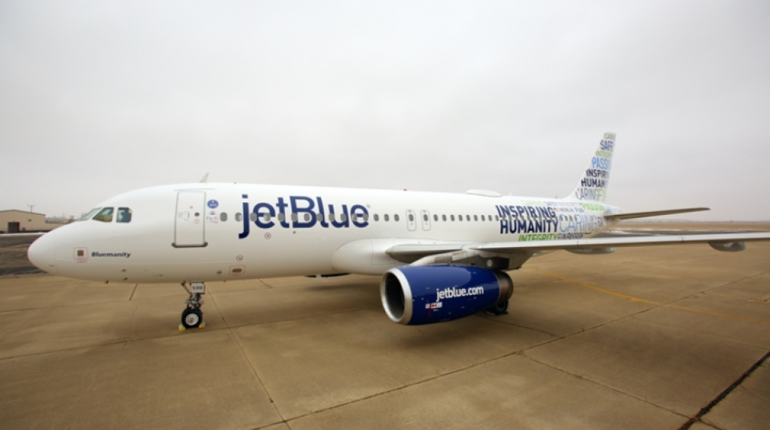 JetBlue's First Quarter Net Income Up 7%