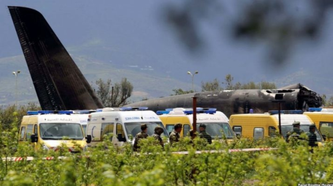 Algerian Military Aircraft IL-76 Crash Leaves 257 Dead