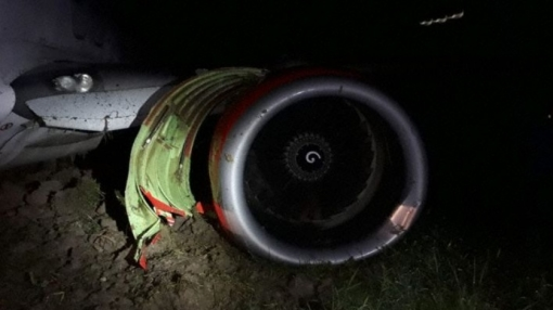 Lion Air Boeing 737 Suffers Runway Excursion on Landing