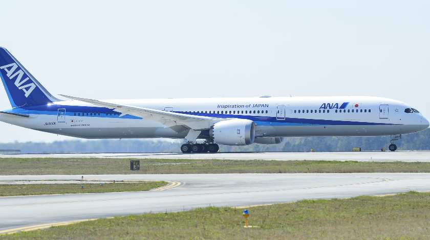 ANA Takes Delivery of Airline's First Boeing 787-10 Dreamliner