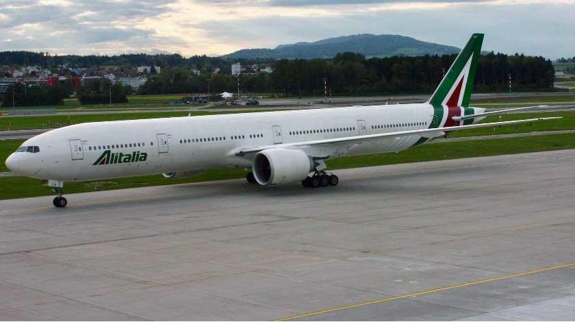 Turbulence Injures 3 Cabin Crew on Alitalia Boeing 777 Flight